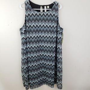 NWT Tacera sleeveless, A-line dress, size 2X